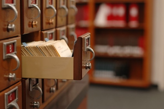 card cataloguing system