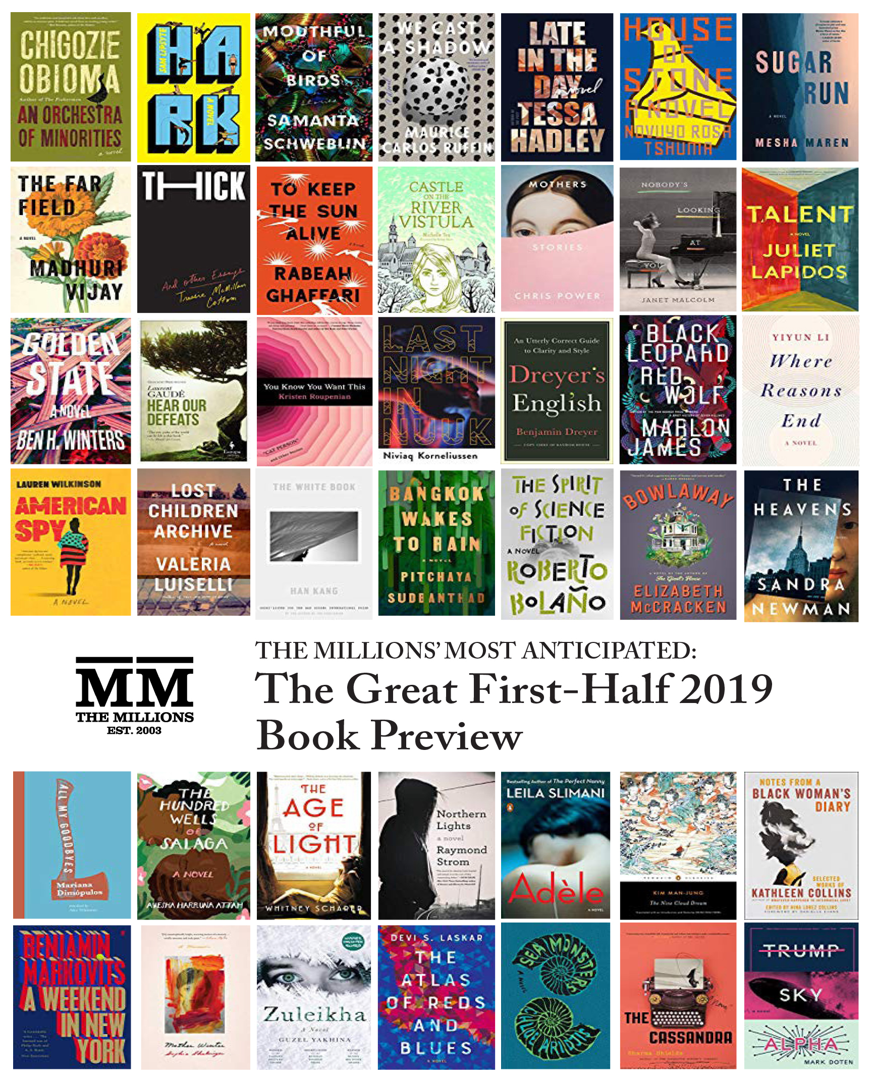 Most Anticipated The Great First Half 2019 Book Preview The