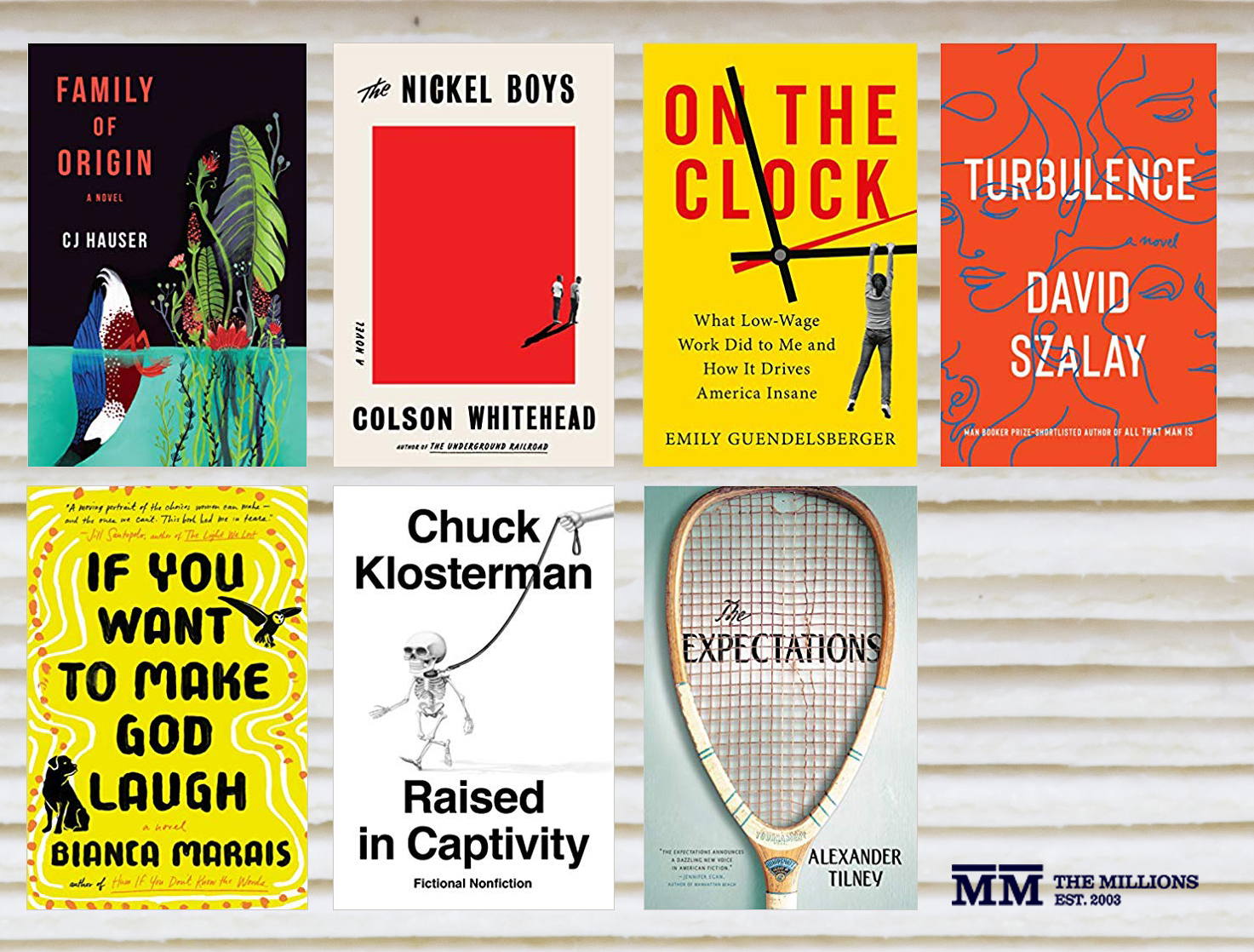 Tuesday New Release Day: Starring Whitehead, Marais, Szalay, Klosterman, and More