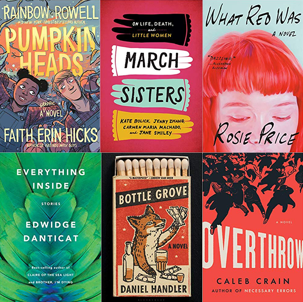 Tuesday New Release Day: Starring Danticat, Bolick, Zhang, Machado, Smiley, Crain, Rowell, and More