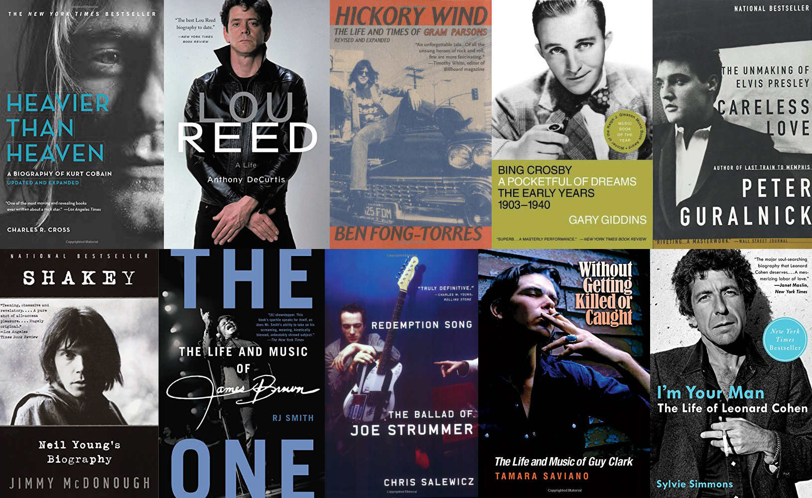 Ten Essential Music Biographies