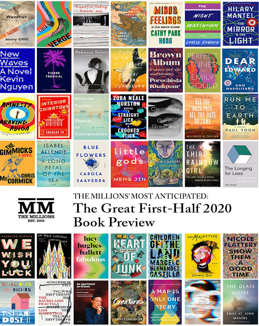 Most Anticipated: The Great First-Half 2020 Book Preview