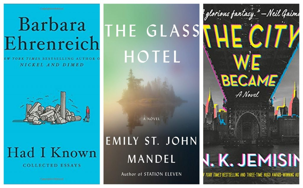 Tuesday New Release Day: Starring Jemisin, Ehrenreich, Giddings, Kemp, Mandel, and More